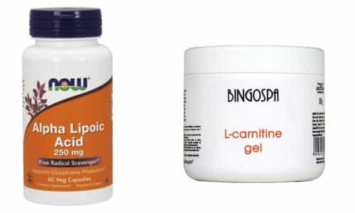 Для поддержания здоровья, стройности, красоты и молодости можно принимать такие витамины как Липоевая кислота и Л-карнитин