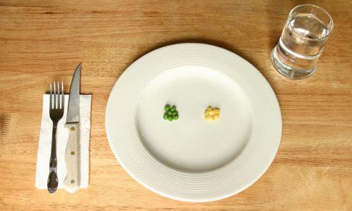 Потребление продуктов начинают с минимального количества и постепенно увеличивают порции