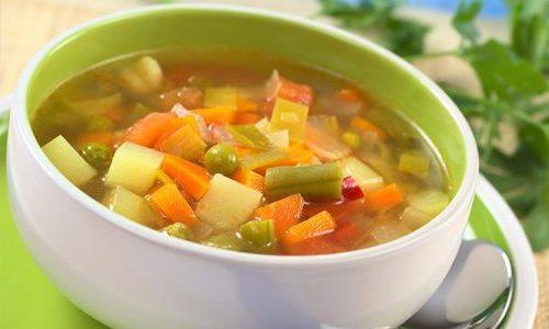 Овощные супы очень полезны при болезни поджелудочной